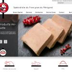 Nouveau site internet des Foies Gras Espinet